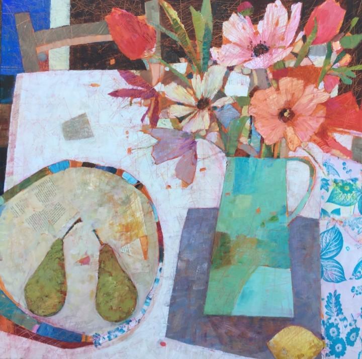 2-sally-anne-fitter-Sunday_s Flowers-acrylic-canvas-76 x51cm
