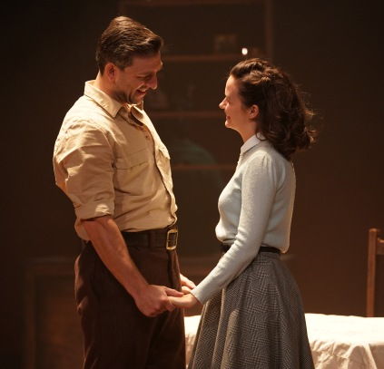 Nicholas Karimi (Eddie) and Lili Miller (Catherine) in A View from the Bridge. Photo by Ian Hodgson (2)