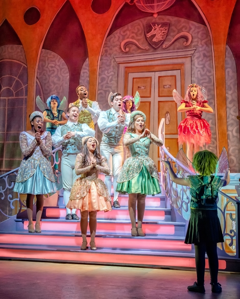 The Ensemble in Sleeping Beauty at York Theatre Royal. Photo Robling Photography